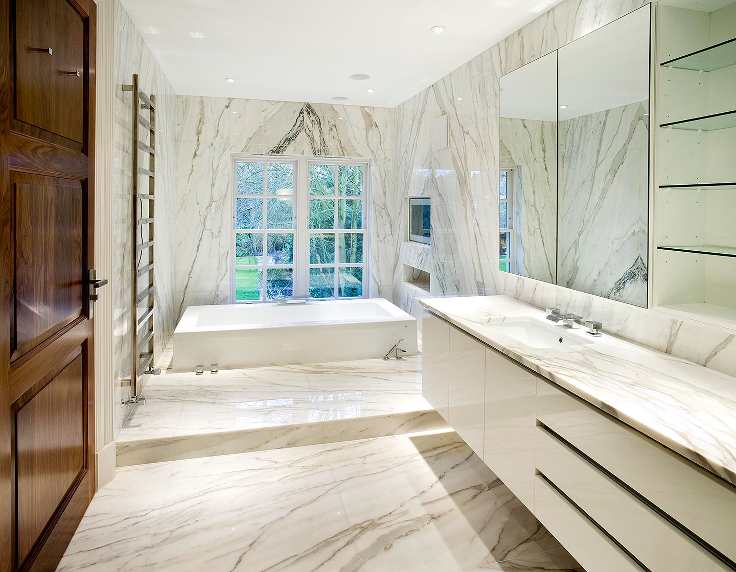 Stunning London Home - Luxury Bathrooms | Tiles & Baths Direct