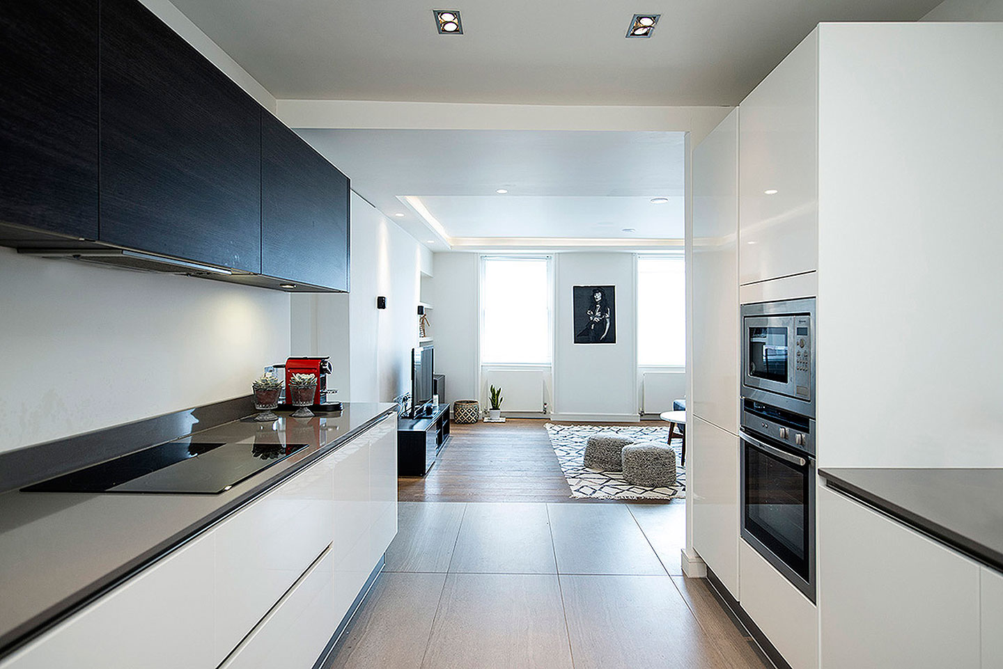 Designer Kitchens for central London high quality apartments | Tiles ...