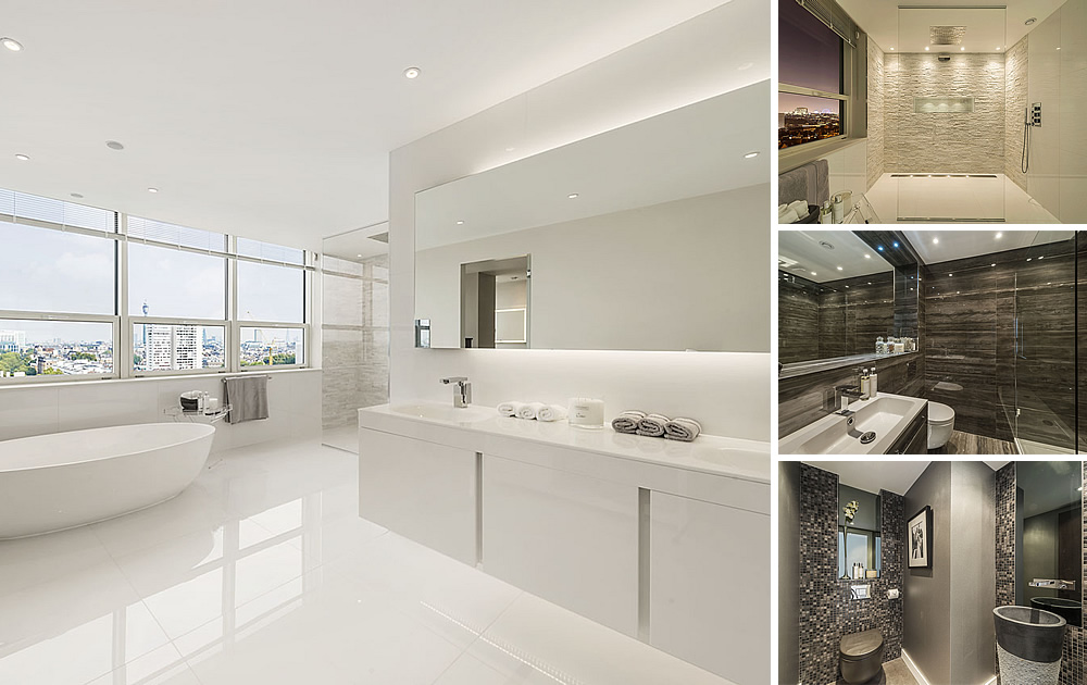 Iconic Penthouse Bathrooms. Luxury Bathrooms   Tiles   Baths Direct