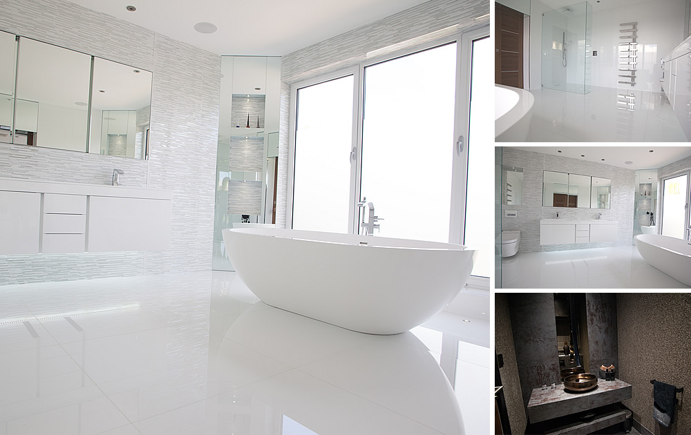 Hertfordshire Bathrooms Project - Master en-suite bathroom & cloakroom bathrooms in HadleyWood