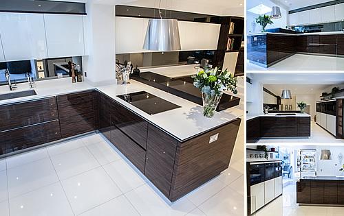 New Kitchen - Macassar Glossy Veneer