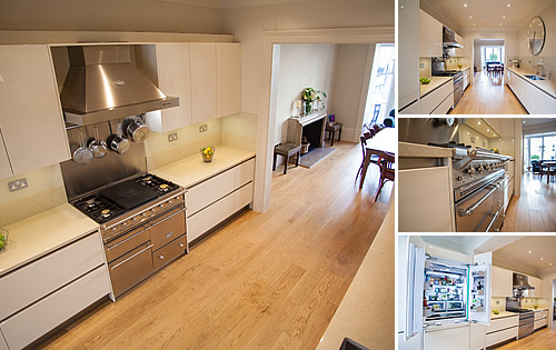 Notting Hill Project - Cream Glossy Kitchen