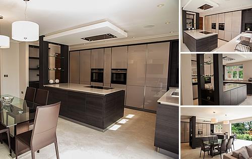 Cashmere Glossy & Terra Oak -  Kitchen