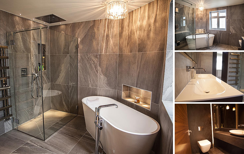 Mill Hill Project - Master Bathroom, Ensuite & Cloakroom