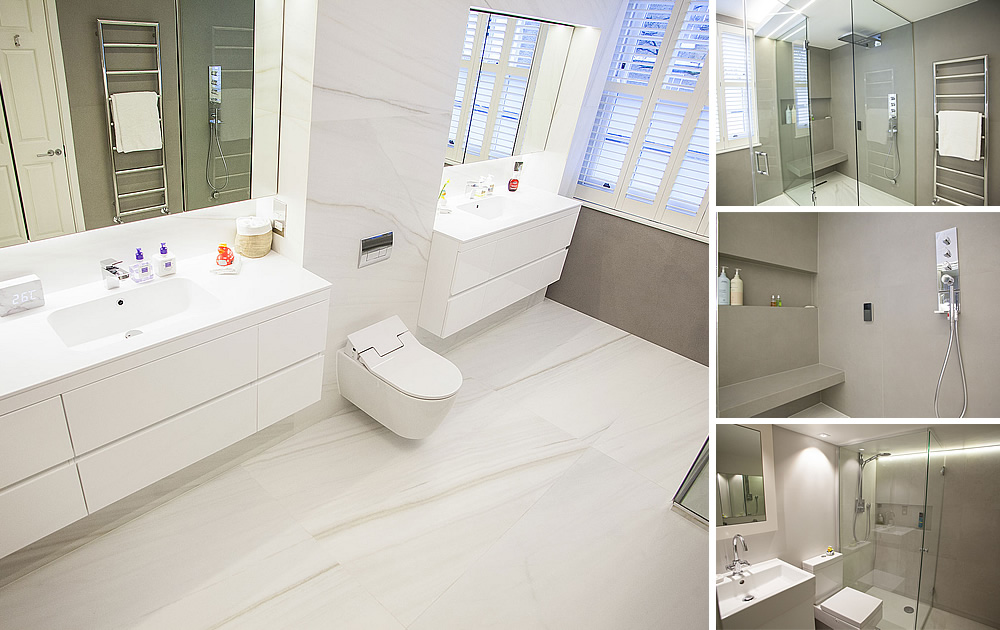 Chelsea House project - 3 En-Suite Bathrooms