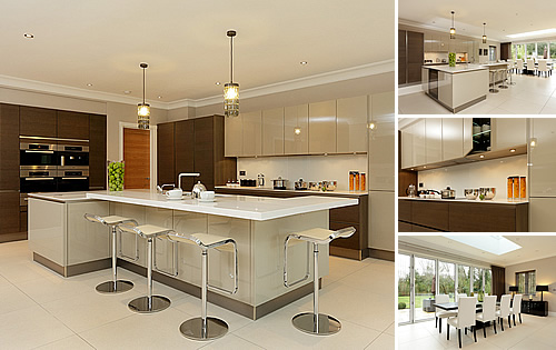 Gerrards Cross Development  - A new build with a luxury kitchen and bathrooms