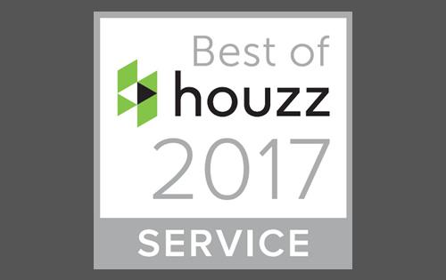 Best of Houzz 2017 - Tiles & Baths Direct has been chosen as a Best of Houzz 2017 winner for Customer Service!