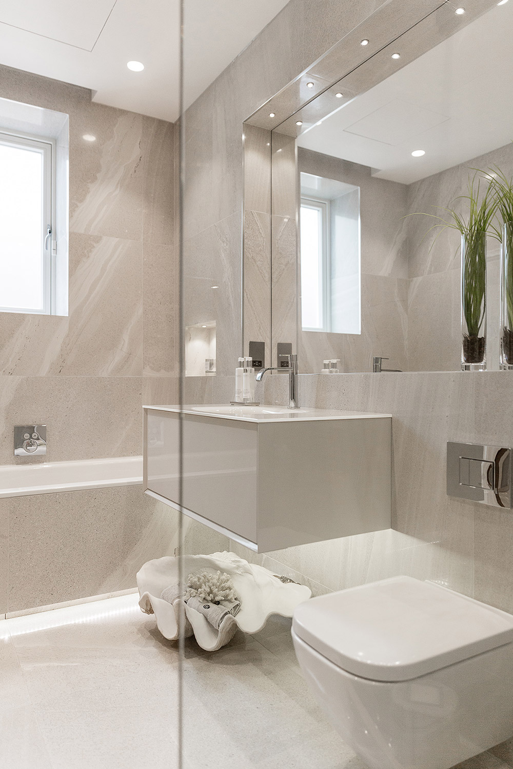 Luxury Bathroom : Hadley Wood, London