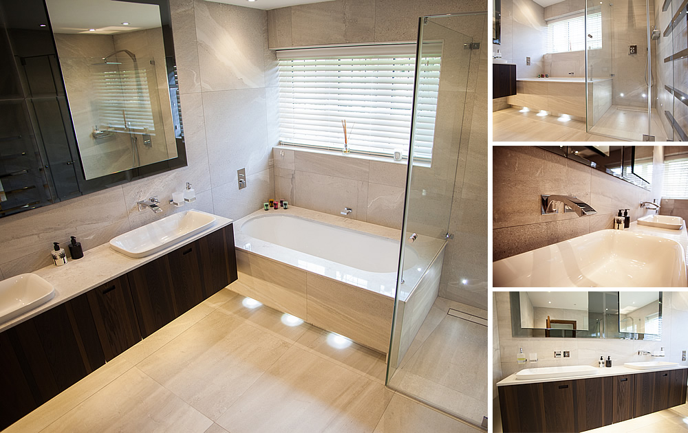 Modern Bathroom - Totteridge - a Calm Oasis